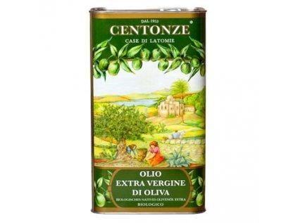 Extra Virgin Olive Oil, Panenský olivový olej 0,5l BIO Centonze