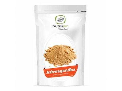 Ashwagandha (Ašvaganda) Powder 125g Bio Nutrisslim