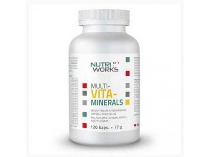 Multivitaminerals NutriWorks 120 kapslí