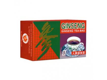 Ženšenový čaj - Ginseng Tea 20 x 2g