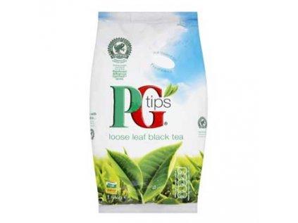 PG TIPS Černý čaj sypaný, tradiční anglický čaj, LOOSE LEAF BLACK TEA 750g