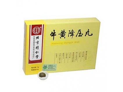 Pilulky - Niuhuang Jiang Ya Wan 10 ks, 1,6g
