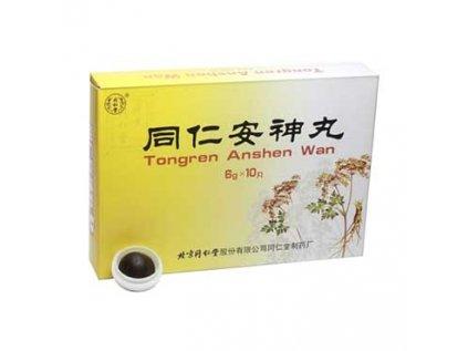 Pilulky Klidný spánek (Tongren Anshen Wan) 10 kusů, 6g