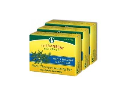 Pánské Nimbové mýdlo na holení a čištění pleti, TheraNeem™ 113g
