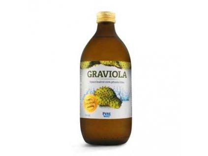 Graviola (Annona ostnitá)100% šťáva premium quality z dužiny 500ml