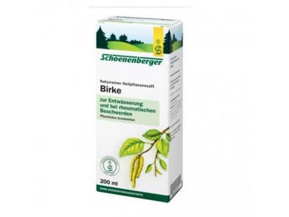 Čerstvá březová šťáva Bio Schoenenberger - Bříza 200ml