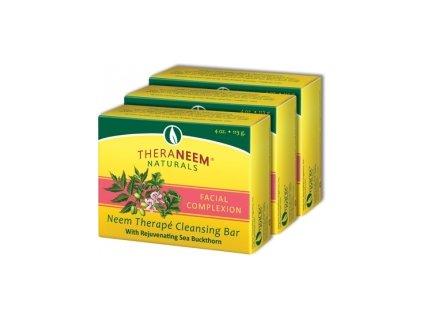 Nimbové, neemové čistící a zklidňující pleťové mýdlo, TheraNeem™ 113g