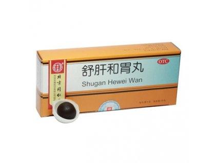 Pilulky jaterní rovnováhy - Shugan Hewei Wan