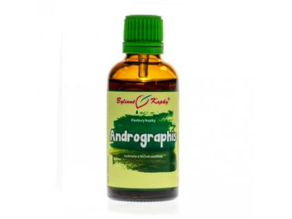 Andrographis (Právenka latnatá) - bylinné kapky (tinktura) 50ml