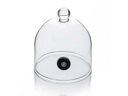 Aladin Rubi skleněný poklop s ventilem 9 cm (pro kouření-super Aladin) 100% Chef