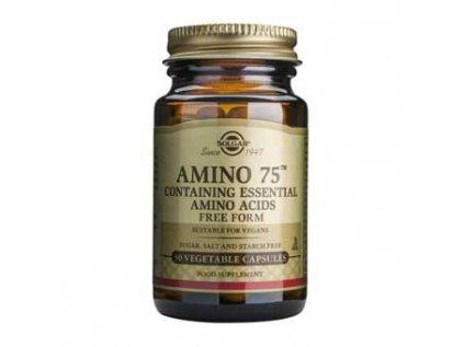 Amino 75 - aminokyseliny, Solgar 30 kapslí