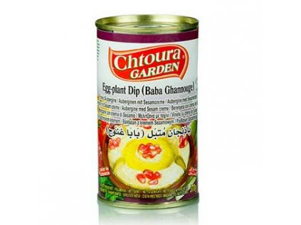 Baba Ghannouge - pasta z lilku a sezamu, Chtoura Garden 370g