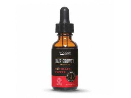 Bio Sérum s pepřem - podpora růstu vlasů, Wooden Spoon 30ml