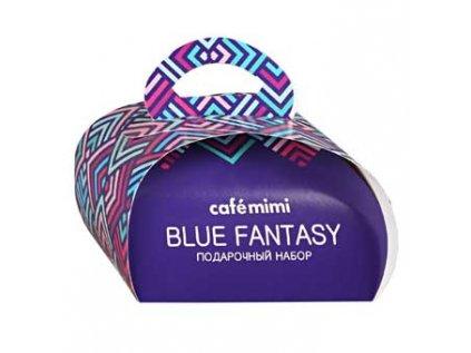 Dárkový set BLUE FANTASY, CAFE MIMI (80g, 120g)
