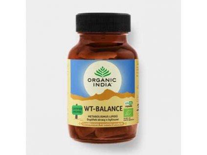 WT-Balance vegan, Bio, Organic India 60 kapslí