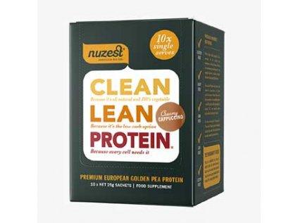 Clean Lean Protein  cappuccino, Nuzest Clean Lean Protein  cappuccino, Nuzest 10×25 g
