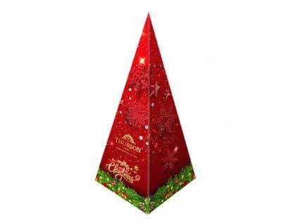 pyramida cerny caj
