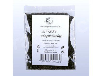 Akupresurní semínka - wangbuliuxing, vakárie Huan Qiu 50g
