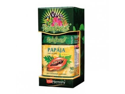 papaja smes enzymu