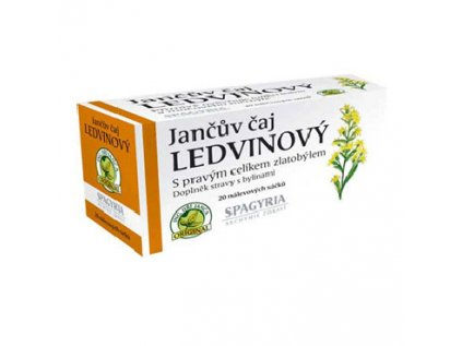 Jančův čaj Ledvinový Spagyria 20 sáčků