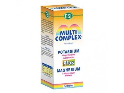 Multicomplex Magnesium (Hořčík) + Draslík 90 kapslí