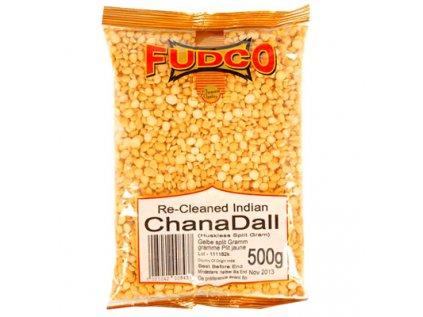 Chana Dall - Cizrna, loupaná, půlená Fudco 500g