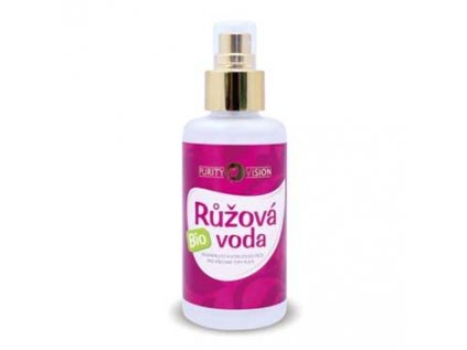 Růžová voda Bio ve spreji, Purity Vision 100ml