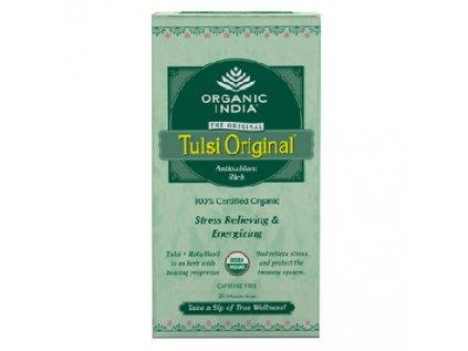 TULSI Originál čaj Organic India 25 sáčků