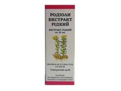 Rozchodnice růžová, Rhodiola růžová -  extrakt 25ml