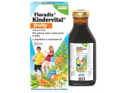 Salus Floradix Kindervital multivitamín pro děti, od 3 let 250ml
