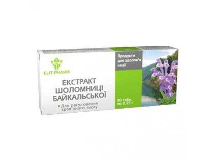 Šišák bajkalský kořen - Extrakt Elit Pharm 40 tablet