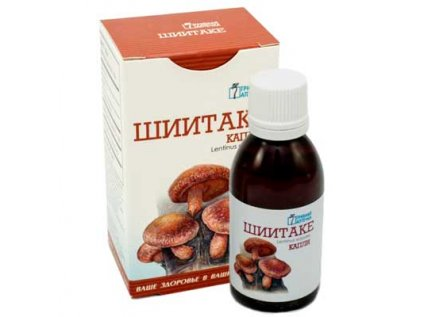 Shiitake extrakt - kapky 50ml