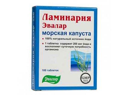 Laminárie (Laminaria japonica) - mořská řasa 100 tablet