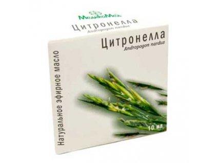 Éterický olej Citrónová tráva, Lemongrass MedikoMed10ml