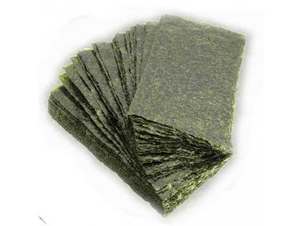 Yakinori - Sushi Nori (Gold) sušené mořské řasy- listy, pražené 50 listů, 125g