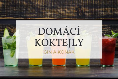 Osvěžte se jednoduchým koktejlem s ginem a koňakem