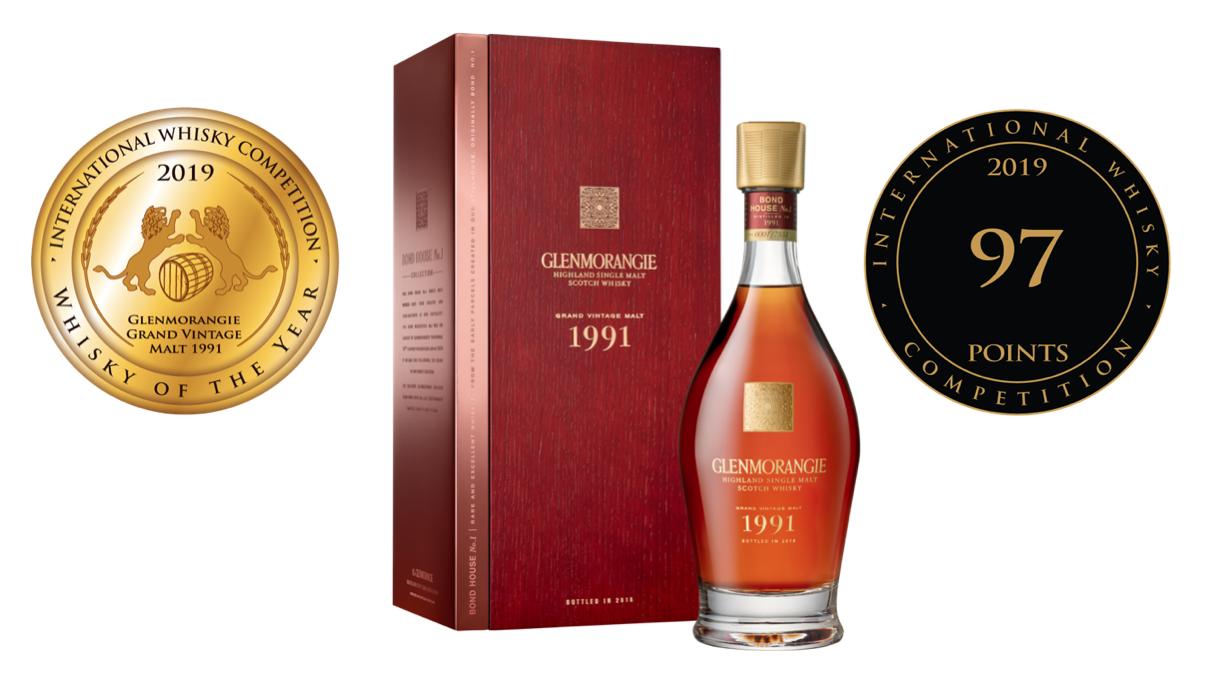"Titul ""Whisky of the Year"" pro Glenmorangie"