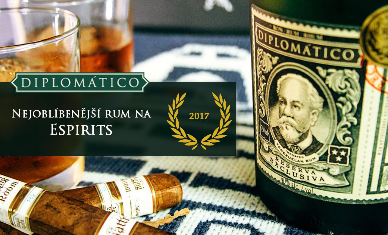 Diplomatico_nejoblíbenější rum 2017