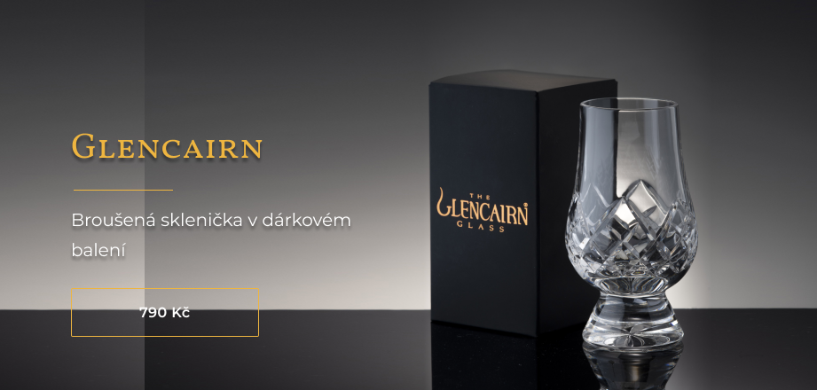 Broušená sklenička Glencairn