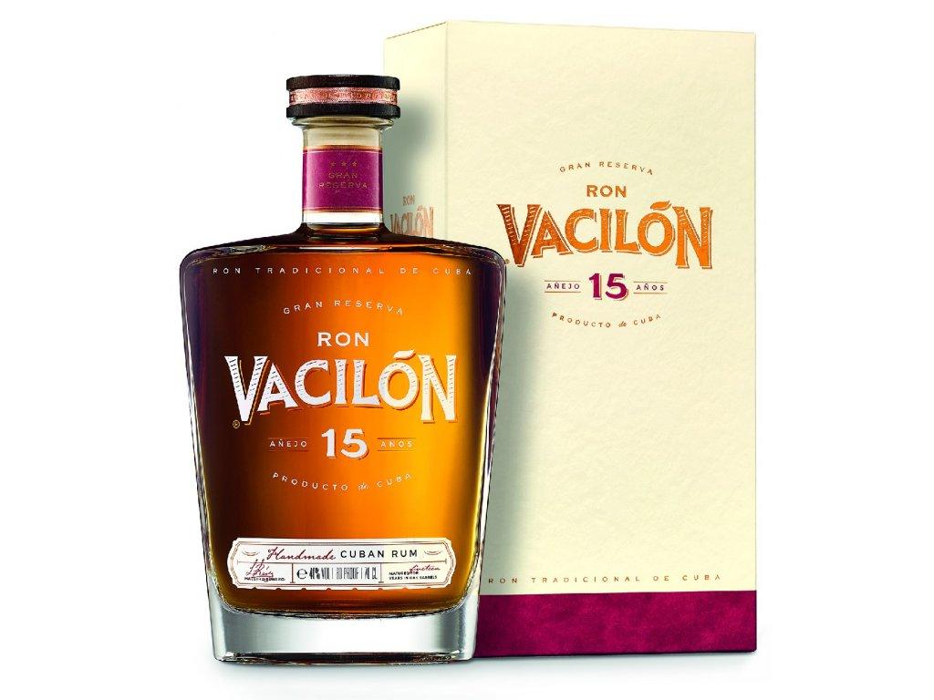 rum ron Vacilon 15 years old espirits.cz
