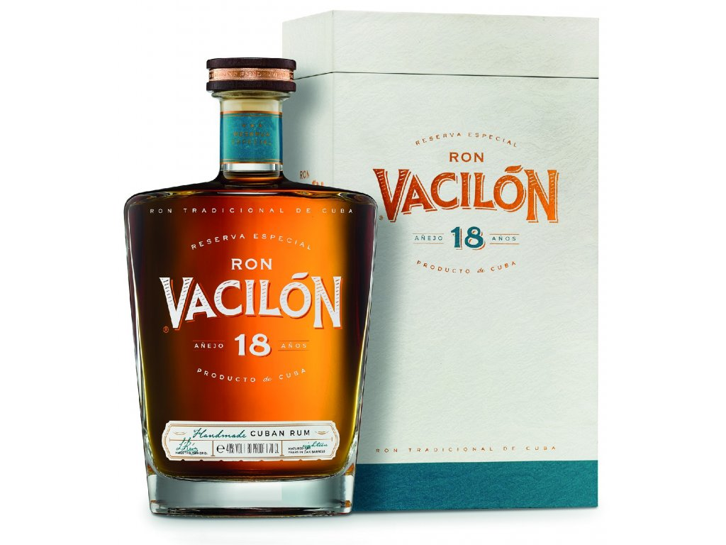 rum ron vacilon 18 years old espirits.cz