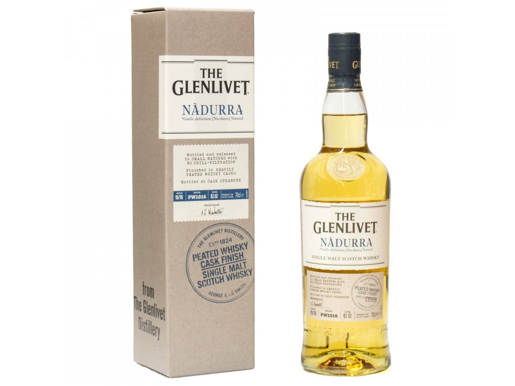 whisky glenlivet nadurra peated 62 espirits.cz