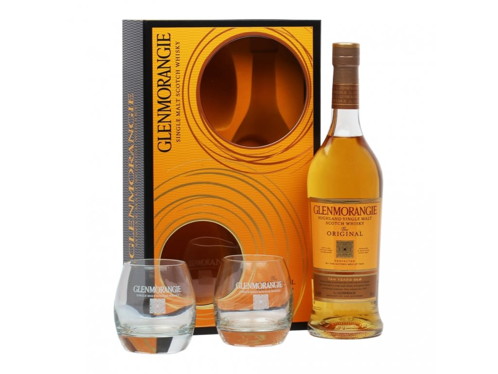 whisky highlands glenmorangie original with glasses espirits.cz