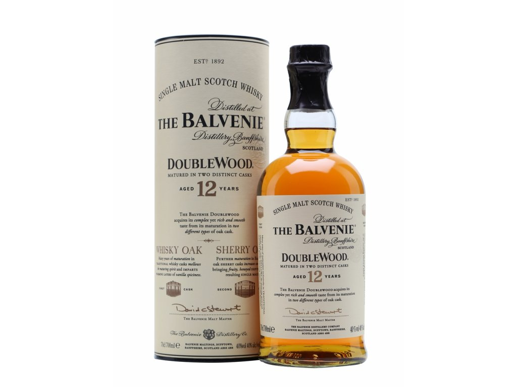 skotska single malt whisky balvenie 12 yo