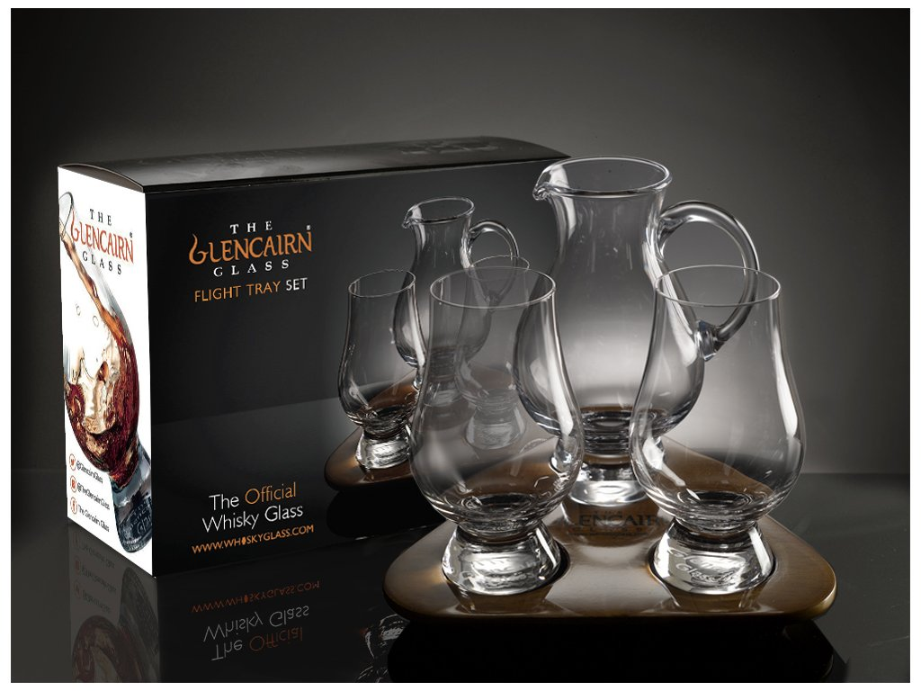 Glencairn Glass Flight Tray set