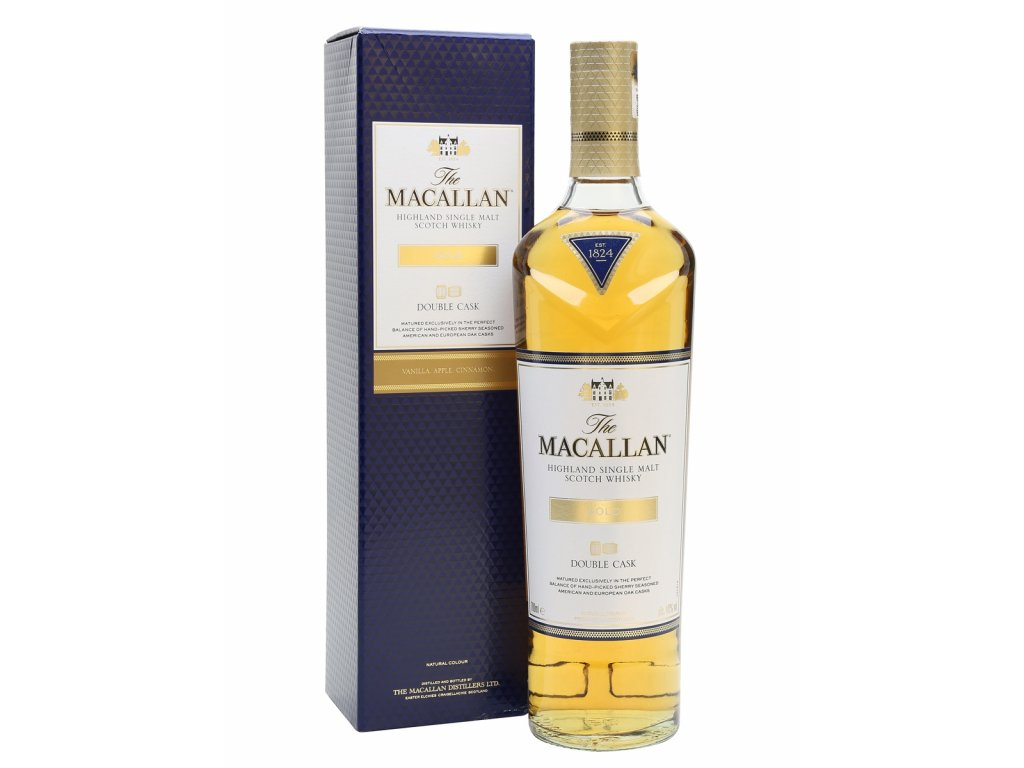 whisky macallan gold double cask espirits cz