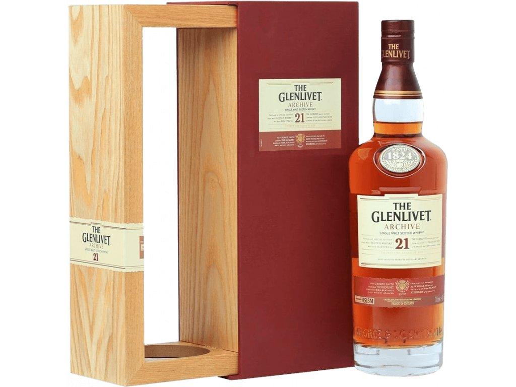 whisky glenlivet 21yo archive espirits cz