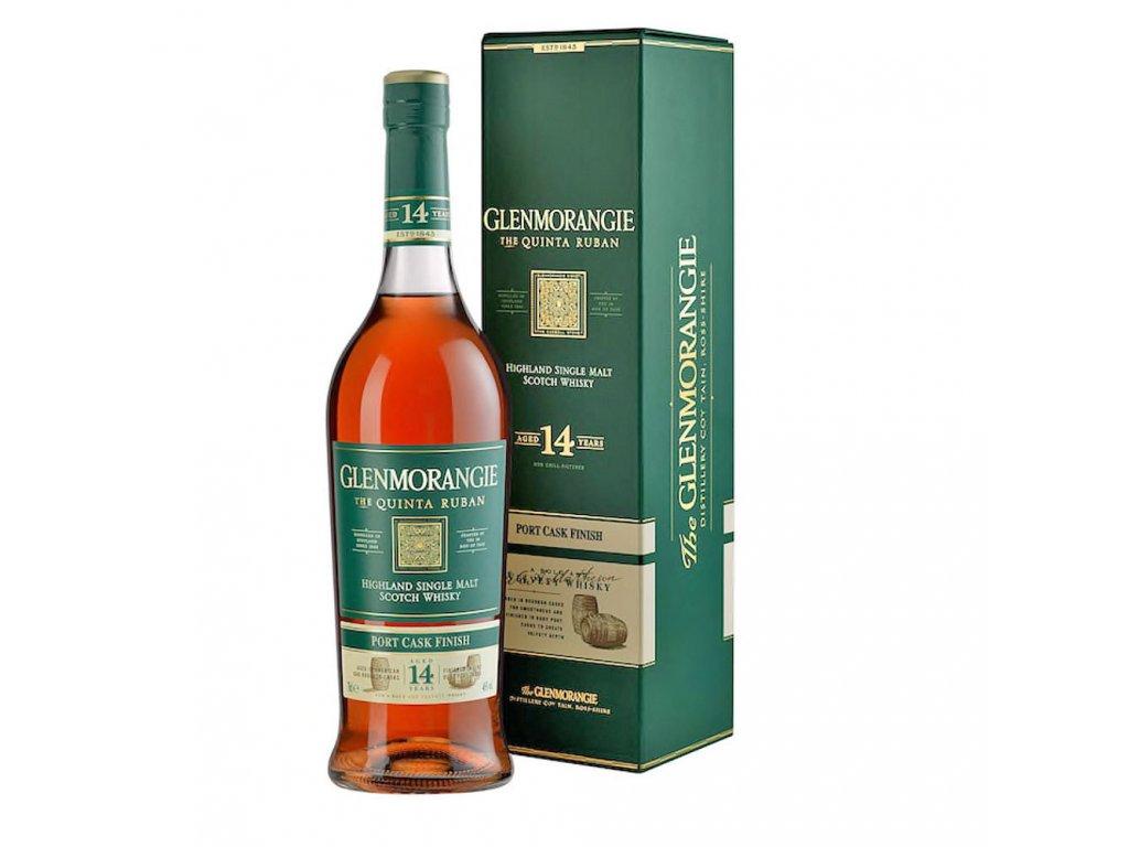 whisky Glenmorangie Quinta ruban 14 YO espirits.cz