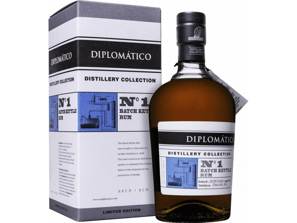 Rum diplomatico no1 batch kettle espiritcz