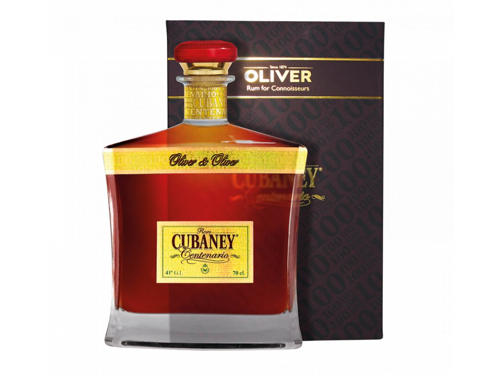 rum cubaney centenario giftbox espirits